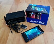Nokia Lumia 800 in Black and Boxed