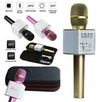 Q9 Wireless Handheld Microphone KTV Karaoke Stereo USB Player Bluetooth Easytake