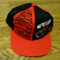 BALDWIN FILTERS / SPEED ZONE Trucker Snap Back Hat Black/Red EXCELLENT