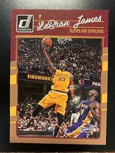 2016-17 DONRUSS LEBRON JAMES W/ KOBE BRYANT #15 LAKERS