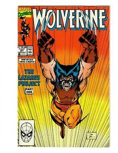 WOLVERINE #27  Jim Lee Cover. Marvel 1990