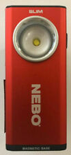 Nebo Slim 6694 USB Rechargeable Flashlight Work Light COB LED 500 Lumen (RED)