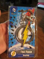 DC Comics - Warner Bros The Flash Logo Metal Keyring - Key Chain - 2017