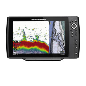 Expedited Delivery! Humminbird HELIX 12 CHIRP Fishfinder/GPS Combo G3N w/Tr