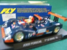 FLY 1/32ND SLOT CAR A41 JOEST PORSCHE BLUE  USED EXCELLENT BOXED