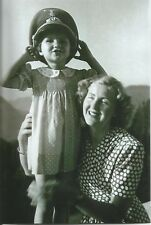 WW II   German   Photo  **  Eva Braun * Girl With Hitlers Hat   **