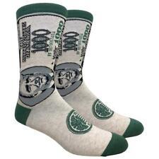 Men's Crew Socks $1000 Bill USA President Donald Trump Money Novelty Footwear