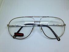 CARRERA MASTER2 YB799 occhiali da vista vintage doppio ponte glasses silver