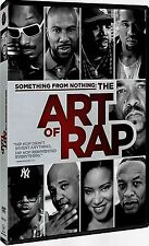 NEW DVD - THE ART OF RAP -  Dr. Dre, Eminem, Ice Cube, Kanye West, KRS-One, Q-Ti