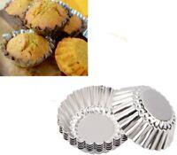 10 Stück Muffinförmchen aus Metall  Backfomen 6,5cm Cup Cake
