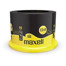 50 CD-R MAXELL DISCHI VUOTI REGISTRABILI CD 700 MB 80 min 52x CDR-mandrino