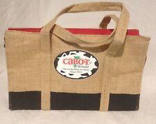 Cabot Cheese Burlap Bag Free Shipping!