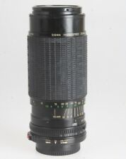 Sigma High Speed Zoom i MC 3,5-4,0/80-200mm Objektiv (Canon FD Bajonett) #162005