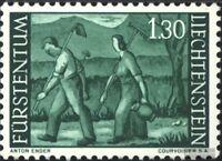 Liechtenstein 438 (kompl.Ausg.) postfrisch 1964 Freimarke