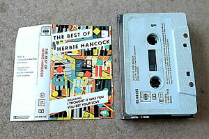 THE BEST OF HERBIE HANCOCK. 1978 CBS cassette 40-84106