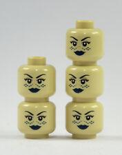 LEGO STAR WARS 5 figurines têtes Tan BARRISS OFFEE tête imprimé