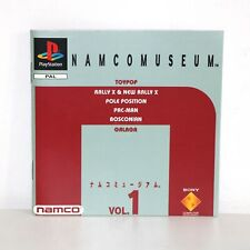 INSTRUCTION MANUAL FOR PS1 PSONE NAMCO MUSEUM PLAYSTATION GAME