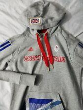 ADIDAS - TEAM GB / GREAT BRITAIN OLYMPIC TEAM Men's Small Sports Hoodie