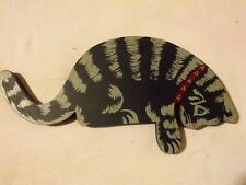 Kitty Door Topper Hand Painted Wood