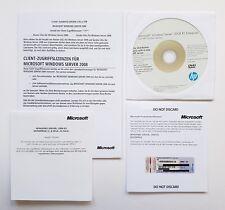 Windows 2008 Server Enterprise R2 HP ROK inkl. 25 CAL 1-8 CPU deutsch EN IT RU