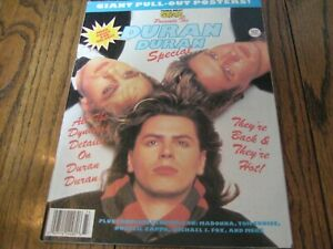 Tiger Beat Star Magazine Presents Duran Duran  Special- Giant Pullout posters!