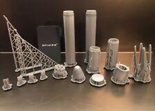 SpaceX Falcon 9 Cargo Dragon 1/144 3D Printed Model