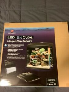 Coralife 100103195 Led Bio Cube Replacement Canopy 29/32 Integrated Automatic