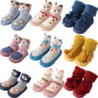 Baby Boy Girl Socks Cotton Children Floor Socks Anti-Slip Baby Step Socks