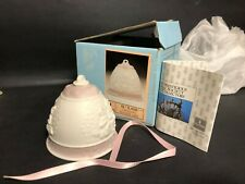 1987 Lladro Diasa Christmas Ornament Bell Porcelain #5458 Limited Series! W Box