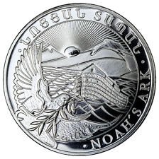2017 Armenia 500 Drams 1 Troy oz. .999 Fine Silver Noah's Ark Coin SKU45190