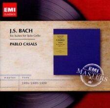 Pablo Casals - Bach Cello Suites (NEW CD)