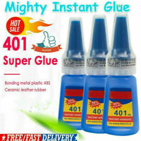 Strong Instant Glue 401 Multi-Purpose Super Glue Instant Adhesive DIY *1