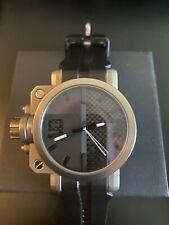 Oakley Titanium Gearbox Timepiece Watch Carbon Fiber Dial Swiss Made