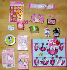 Hello Kitty - Large Collection of Items and Candy Vintage and New