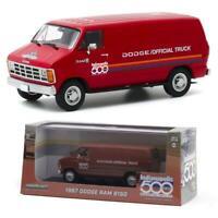 GREENLIGHT 86576 1987 Dodge Ram B150 Van 71st Indianapolis 500 Diecast 1:43