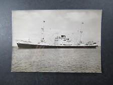 PC  Ship m.s. Camerounkust NV Stoomvaartmaatschappij Holland West Afrika Lijn