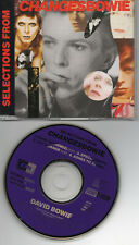 DAVID BOWIE selection from changes 4 TRACKS UK CD PROMO