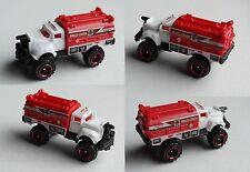 Matchbox - Flame Smasher weiß/rot Feuerwehr