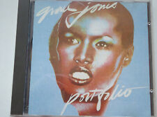 GRACE JONES # Portfolio RARE Italian IMCD 19 # VG+ (CD)
