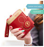 New Lady Women ECO Leather Small Mickey Mouse Wallet Cute Cartoon Card Holder