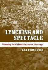 AMY LOUISE WOOD - Lynching and Spectacle: Witnessing Racial ** Brand New **