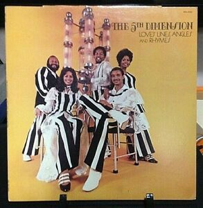THE 5TH DIMENSION Love's Lines, Angles and Rhymes Album Released 1971 Record USA