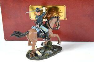 "Britain 17483 American Civil War ""Union Cavalry Private #5"" 54mm Miniatures"
