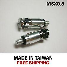 Fork Bleeder Valve Kawasaki KX/KXF/KDX/KLX 125/200/250/450/500-M5x0.8 silver