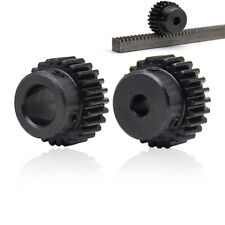 1 Mod Spur Gear 10T-150T Teeth Transmission Gear With Step 45# Steel Pinion Gear