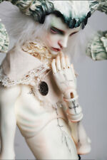 1/3 BJD Male Doll Unpainted Body + Free Eyes + Face Make Up Head without Antler