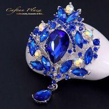 Bisutería de aleación cristal color principal azul