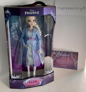 "Disney Store Limited Edition Frozen 2 Elsa 17"" Doll"