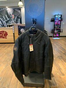 Indian Motorcycle Leather Rocker Jacket (Extra-Large)
