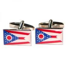 Ohio State Bandera Gemelos ohioans Buckeye Usa American Regalo De Cumpleaños De Crucero
